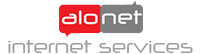 alo.net inernet services Logo