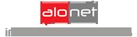 alo.net inernet services Logo